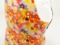 Coset thoraco-lombaire fleuri